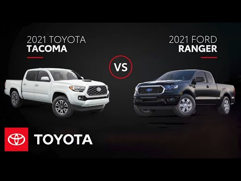 2021 Toyota Tacoma vs. 2021 Ford Ranger | All You Need to Know | Toyota