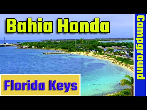 Bahia Honda State Park Campground Tour, Florida Keys 4K