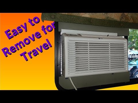 How To Install a Window AC Unit In a Travel Trailer
