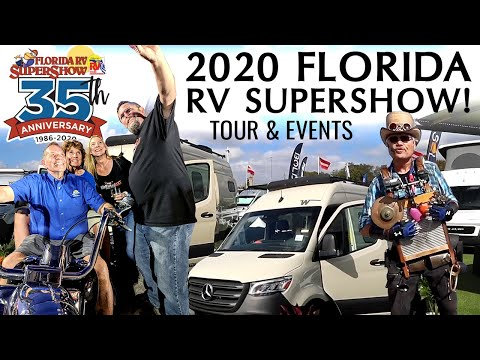 2020 Florida RV Supershow | Show Tour and Events!