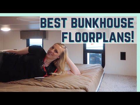 BEST 2020 BUNKHOUSE FLOORPLANS    FLORIDA RV SUPERSHOW