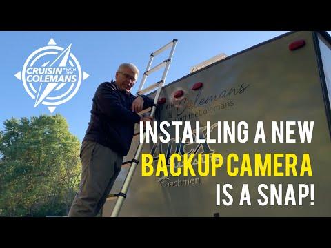 Backup Camera Installation