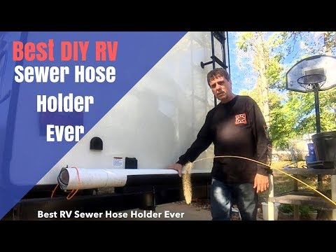 Best DIY RV Sewer Hose Storage