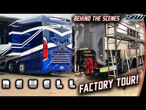 Newell Coach Factory Tour: Hand Built In Oklahoma! (2+ Million Dollar RV Build)
