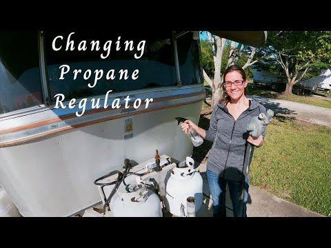 Replacing RV Propane Regulator | Avion LaGrande