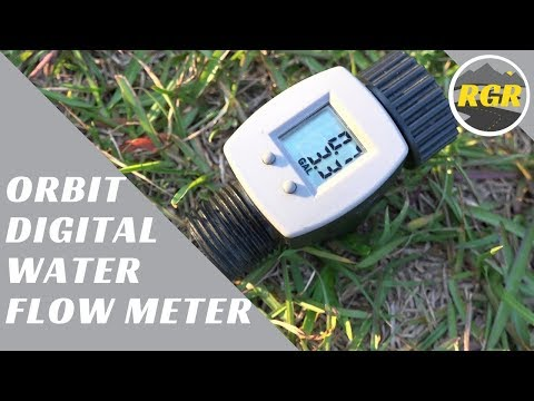 Digital Flow Meter By Orbit | Product Review | Measure Gallons through your hose accurately