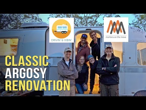 Classic Airstream Restoration with Drivin' & Vibin' and Mortons on the Move