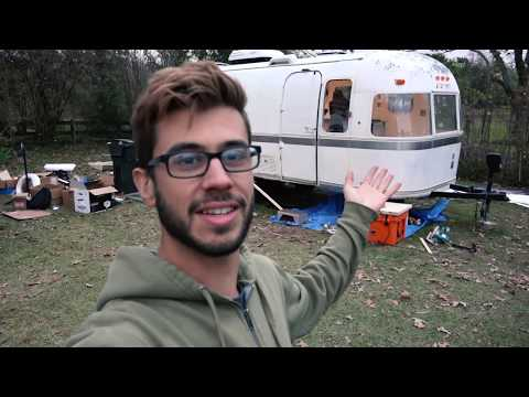 Check Out This Major Custom Airstream Renovation Project! - Walk through of an Argosy Renovation