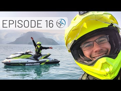 Alaska Jet Ski & Helicopter Tours to Glaciers, Adventures in Whittier & Anchorage | Go North Ep 16
