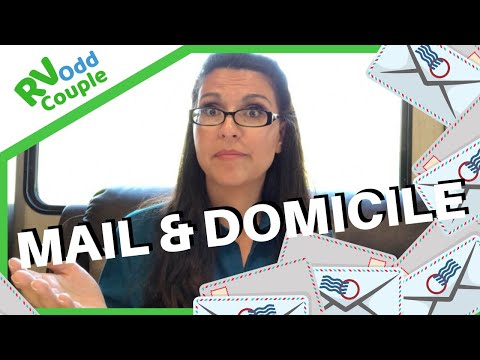 How to get Mail? Domicile, Residency, & Mail for Full Time RVers