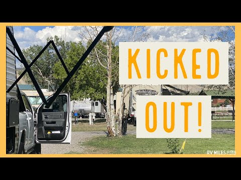 Kicked Out of Montrose San-Juan RV Resort for Receiving a Package! | RV Miles