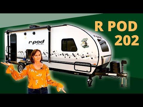 R POD 202 by Forest River - 2021 Model - Walkthrough Tour