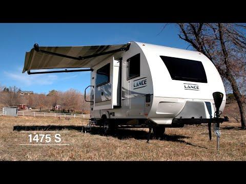 Lance 1475s Travel Trailer | Floor Plan Walkthrough & Feature Highlights
