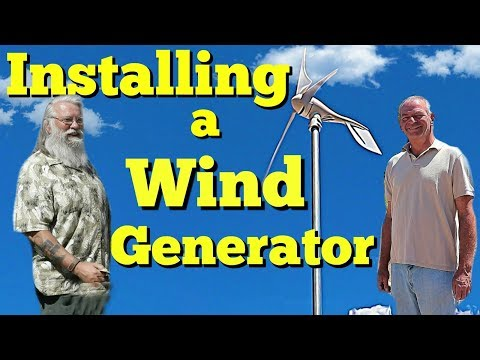 Free Power From the Wind; How to Install a Wind Generator on an RV