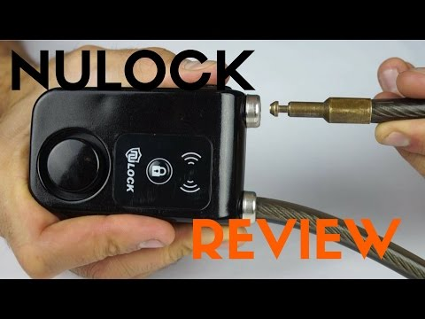 Preventing bike theft with an alarmed bike lock! - Nulock Review