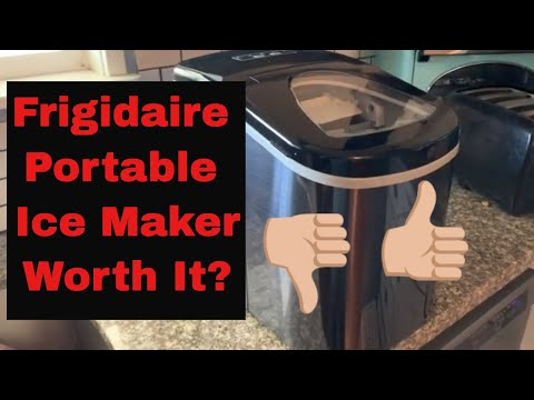 Review of Frigidaire Portable Ice Maker - Is It Worth It?!?