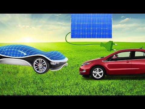 Solar Charging an Electric Car Off Grid ☀️ 🚗 (solar powered chevy volt)