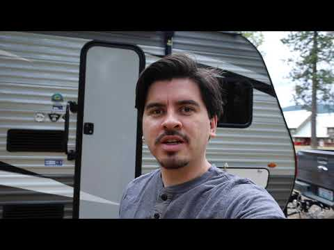 Towing a Jayco Jayflight 174BH Travel Trailer Across Montana With My 2019 Ford Ranger