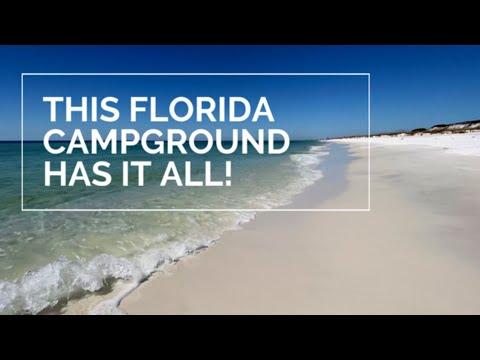 THIS FLORIDA CAMPGROUND HAS IT ALL | Grayton Beach State Park | Florida Beaches | 30A