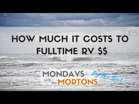 2 Years on the Road Finances, How Much Does it Cost to Fulltime RV | MONDAYS WITH THE MORTONS S3E5
