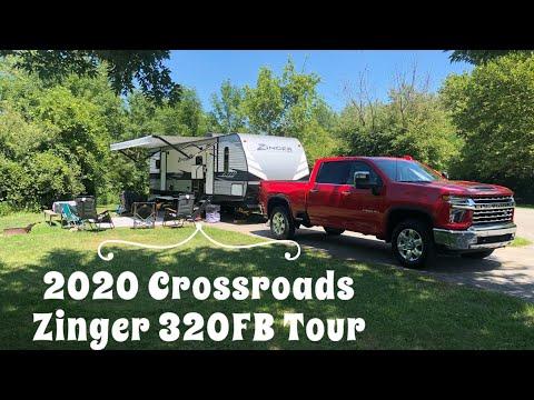 We Bought a Travel Trailer - 2020 Crossroads Zinger 320FB - RV Tour