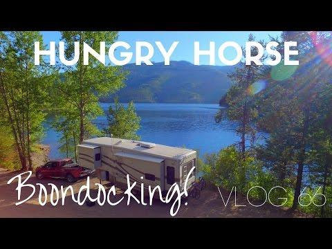 Best Boondocking Spot! (Hungry Horse Resivoir) - Vlog 66