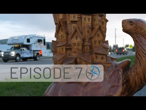 Alaska Highway Detour - Dinosaurs, Dams, Chainsaw Carvings, and Future Flooding | GO NORTH EP. 7