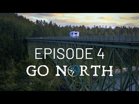 The Adventure Begins - Driving to Washington & Our RV Lithium Battery Install | Go North Ep 4