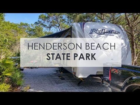 Henderson Beach State Park - Campground Drive Through