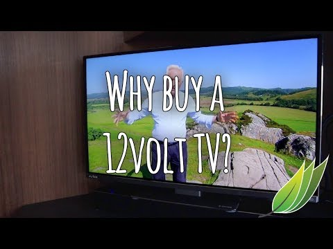 Why purchase a 12 Volt television for the caravan?