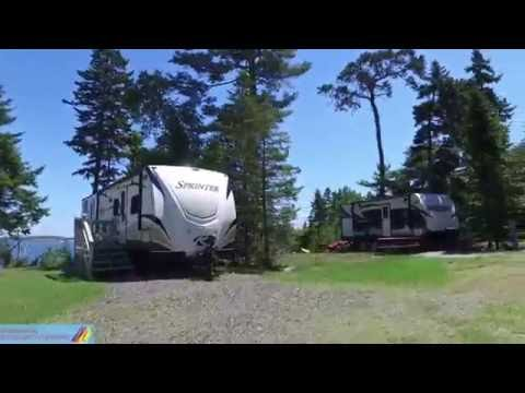 Gray Homestead Oceanfront Campground: Virtual tour