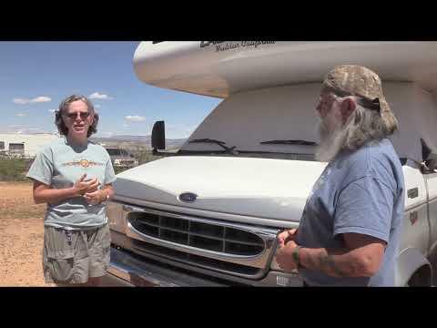 Jeannie Living in a Lazy Daze Class C RV