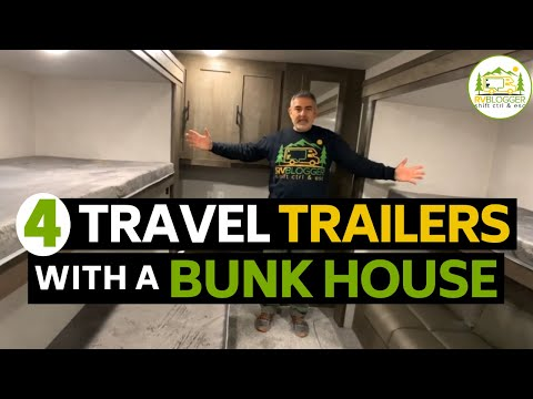 Best Travel Trailers With a Bunkhouse and a Bathroom!