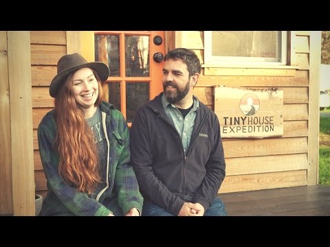Tiny House Expedition Interview and Tiny House Tour - Crossing Paths with the Mortons on the Move