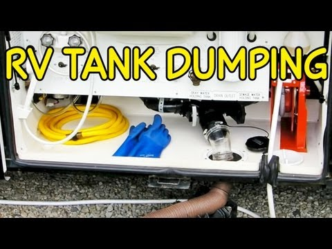 RV Holding Tank Dumping 1-2-3