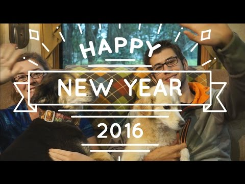 Happy New Year! Recap of 2015 - The Year We Hit The Road