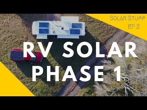 RV Solar Phase 1 - 1200W Solar RV Build Detailed Walk-through