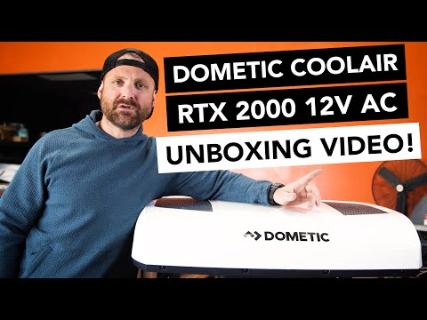 Dometic CoolAir RTX 2000 | 12 Volt Air Conditioner | UNBOXING + FIRST IMPRESSIONS | Nomadic Cooling