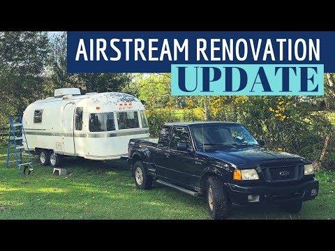 UPDATE & PLANS: Airstream Argosy Renovation