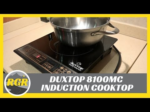 Duxtop Induction Cooktop 8100MC | Product Review | Portable Induction Electric Stovetop