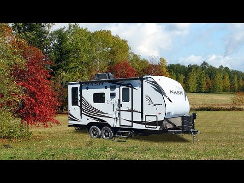 Quick Tour of The Nash 17K Travel Trailer