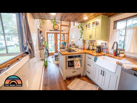 Downsizing To A Gorgeous Tiny House On Wheels - Their Forever Home
