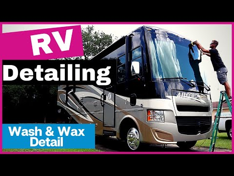 How To Detail An RV | A step by step guide to detailing an RV