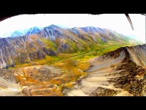 Anaktuvuk Pass to Coldfoot Alaska over the Brooks Range