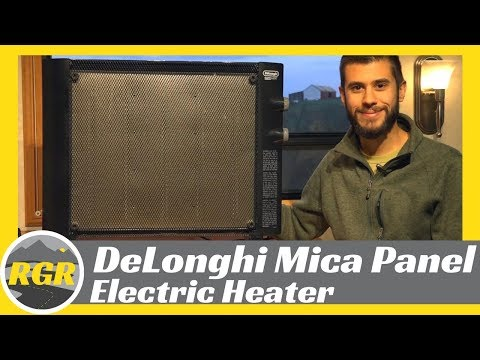 DeLonghi HMP1500 Mica Panel Electric Heater | Product Review | Heat Your RV with Electricity