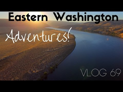 Adventures in Eastern Washington | Travel to Spokane and Quincy | Vlog 69