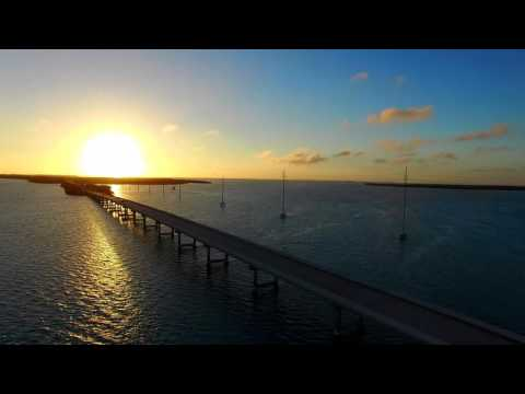 Bridges and Islands - Aerial Views of the Florida Keys in 4K