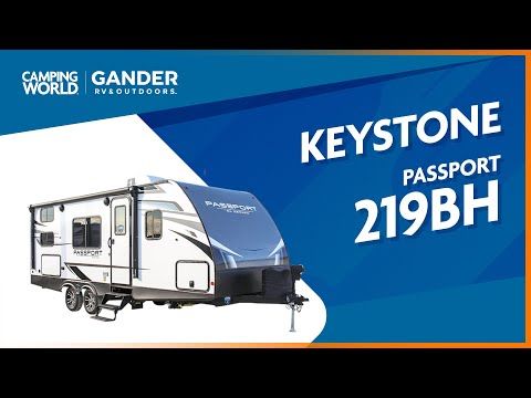 2021 Keystone Passport 219BH   Travel Trailer - RV Review: Camping World