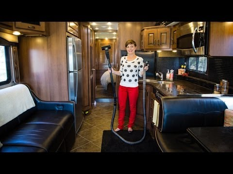 RV Quick Tip - How To Use the RV Central Vacuum System