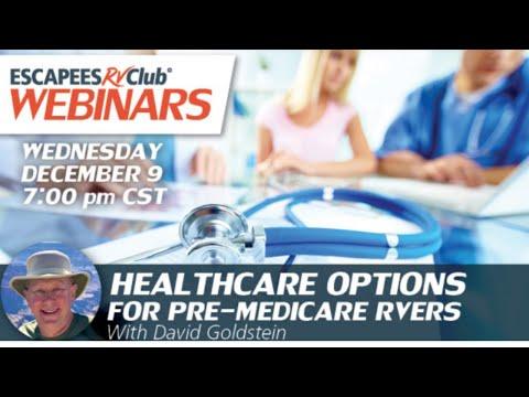 Pre-Medicare Health Insurance for RVers